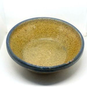 New Stonware Pottery Bowl OOAK
